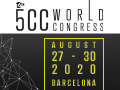 12th 5CC World Congress from August 27-30, 2020 in Barcelona, Spain.