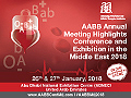 AABB Annual Meeting Highlights Conference and Exhibition in the Middle East 2018, will be held January 26th and 27th, 2018, at the Abu Dhabi National Exhibition Centre in Abu Dhabi, United Arab Emirates.