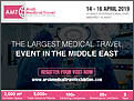 AMT - THE LARGEST MEDICAL TRAVEL EVENT IN THE MIDDLE EAST from 14-16 April, 2019 at Kuwait International Fair, Mishref, Kuwait.