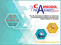 Cambodia Phar-Med 2018 on 5-7 September, 2018 - International Exhibition & Conference on Pharmaceutical and Medical Industry for Cambodia will be held at Phnom Penh Hotel, Phnom Penh, Cambodia.
