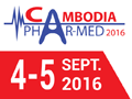 Cambodia Phar-Med Expo 2016 on September 4-5, 2016 in Phnom Penh, Cambodia.