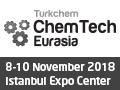 ChemTech Eurasia 2018 on 8-10 November, 2018 at Istanbul Expo Center, Istanbul, Turkey.