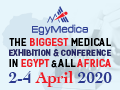 EgyMedica 2020 on 02-04 April, 2020 at Cairo International Convention Center, Cairo, Egypt.