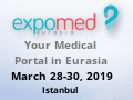 25th Expomed Eurasia 2019, the most important meeting platform for the medical industry across Eurasia and Turkey, was held between March 22-25, 2018 at Tüyap Fair and Congress Center, Istanbul, Turkey.