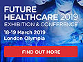 FUTURE HEALTHCAER 2019 - The only B2B event in the UK to showcase products and services for future healthcare to an audience of global buyers will be held from 18-19 March 2019, in Olympia London.