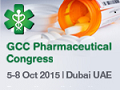 GCC Pharmaceutical Congress 2015 on October 5-8, 2015 in Dubai, U.A.E.