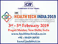 The 2nd Edition of Health Tech India 2019 is scheduled to be held from 3 – 5 February 2019 at Pragati Maidan, New Delhi, India.