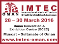 IMTEC 2015 on 28–30 March, 2016 at Oman Convention & Exhibition Centre (OCEC), Muscat, Sultanate of Oman.