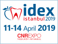 IDEX Istanbul 2019 - 16th Istanbul Dental Equipment and Materials Exhibition from April 11-14, 2019 in Istanbul , Turkey.