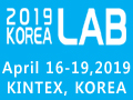 KOREA LAB 2019 - The 13th Korea Int'l Laboratory & Analytical Equipment Exhibition will be held on April 16-18, 2019 at Hall 7B-8, KINTEX2, Korea.