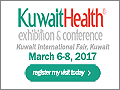 Kuwait Health 2017 on March 6-8, 2017 in Kuwait City, Kuwait.