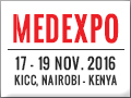 MEDEXPO AFRICA - KENYA 2016, 19th International Medical and Healthcare Products & Equipment Trade Exhibition will take place at The Kenyatta International Conference Center, Nairobi , Kenya, from the 17 - 19 November, 2016.
