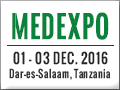 MEDEXPO AFRICA - TANZANIA 2016, 19th International Medical and Healthcare Products & Equipment Trade Exhibition will take place at Mlimani Conference Center, Dar-es-Salaam, Tanzania, from the 1 - 3 December, 2016.