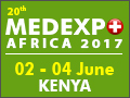 MEDEXPO KENYA 2017 on 2-4 June, 2017 in Nairobi, Kenya.