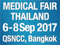 Medical Fair Thailand 2017 on September 6-8, 2017 in Bangkok, Thailand.