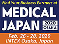 Medical Japan 2020 - 6th International Medical and Elderly Care Expo & Conferece from February 26-28, 2020 at INTEX Osaka, Japan.