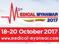 Medical Myanmar 2017 on October 18-20, 2017 in Yangon, Myanmar.