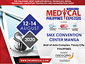 Philippine's Most Complete Medical Technology, Dental Technology, Laboratory Technology and Pharmaceutical Event from 12-14 August, 2020 at SMX Concention Center Manila, Mall of Asia Complex, Passay City, Philippines.