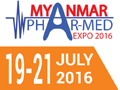 Myanmar Phar-Med Expo 2016 on July 12-14, 2016 in Yangon, Myanmar.