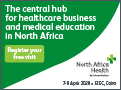 North Africa Health from 07-09 April, 2020 in Cairo,Egypt.