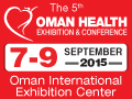 Oman Health Exhibition & Conference 2015 on September 7-9, 2015 at Oman International Exhibition Center, Muscat, Sultanate of Oman.