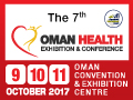 Oman Health Exhibition & Conference 2017 on October 9-11, 2017 at Oman Convention & Exhibition Centre, Muscat, Sultanate of Oman.