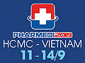 PHARMEDI 2019 - PHARMED & HEALTHCARE VIETNAM 2019 on September 11-14, 2019 at SECC, HCMC, Vietnam.