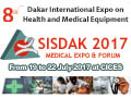 SISDAK Expo & Forum 2017 on 28 June to 01 July, 2017 at CICES, Dakar, Senegal.