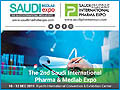 The 2nd Saudi International Pharma & Medlab Expo 2019 from 10-12 December, 2019 at Riyadh International Convention & Exhibition Center, Riyadh, Saudi Arabia.