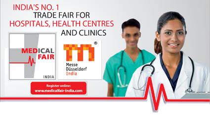 The MEDICAL FAIR INDIA, India's No. 1 Trade Fair for Hospitals, Health Centres and Clinics.